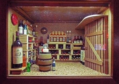 Vitrine «Cave à vin»