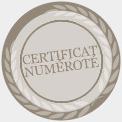 Certifcat d'authentification numéroté