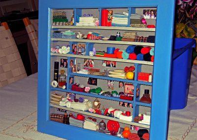 Tableau 3D «L'armoire à linge d'Isabelle»