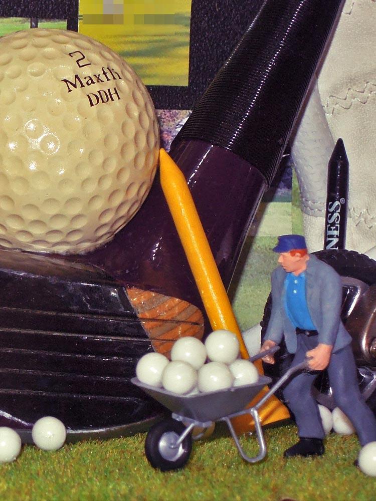 Tableau 3D «Voyage autour du Golf»